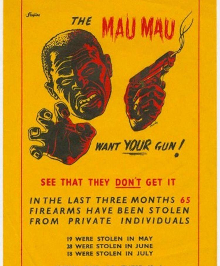 carteles racistas antiguos