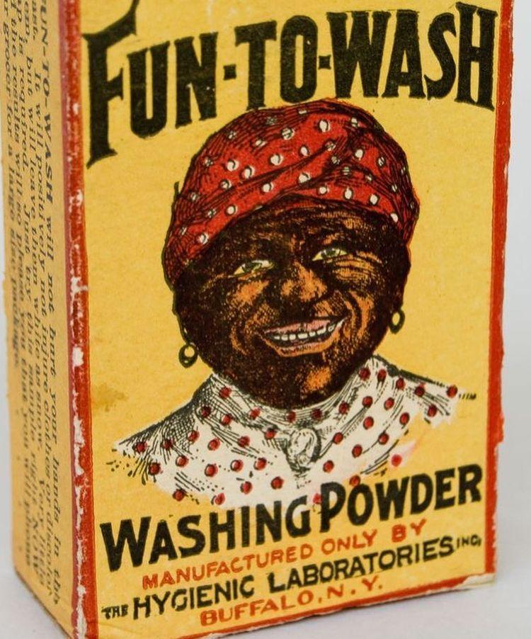 anuncio de detergente racista