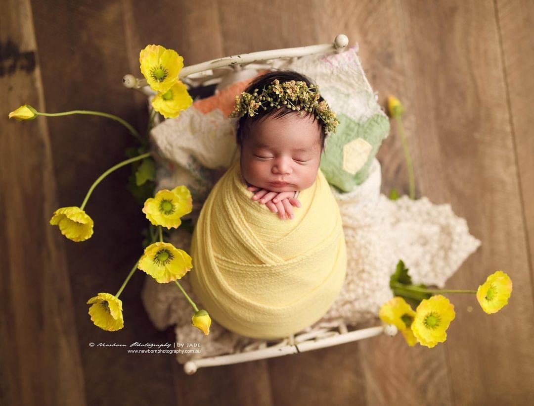 fotografías artísticas de recién nacidos