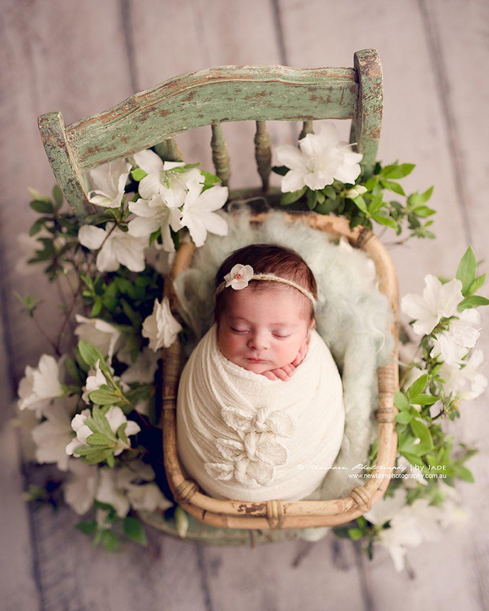 fotos artísticas de bebés