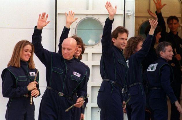 tripulación biosfera 2