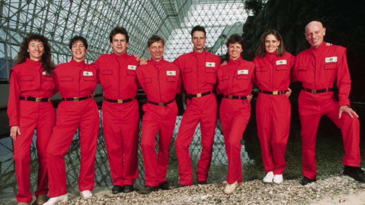tripulación original biosfera 2