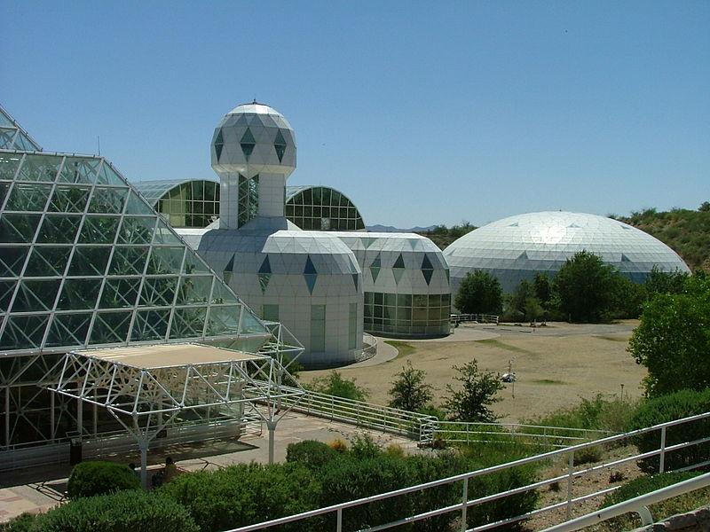 instalaciones de biosfera 2
