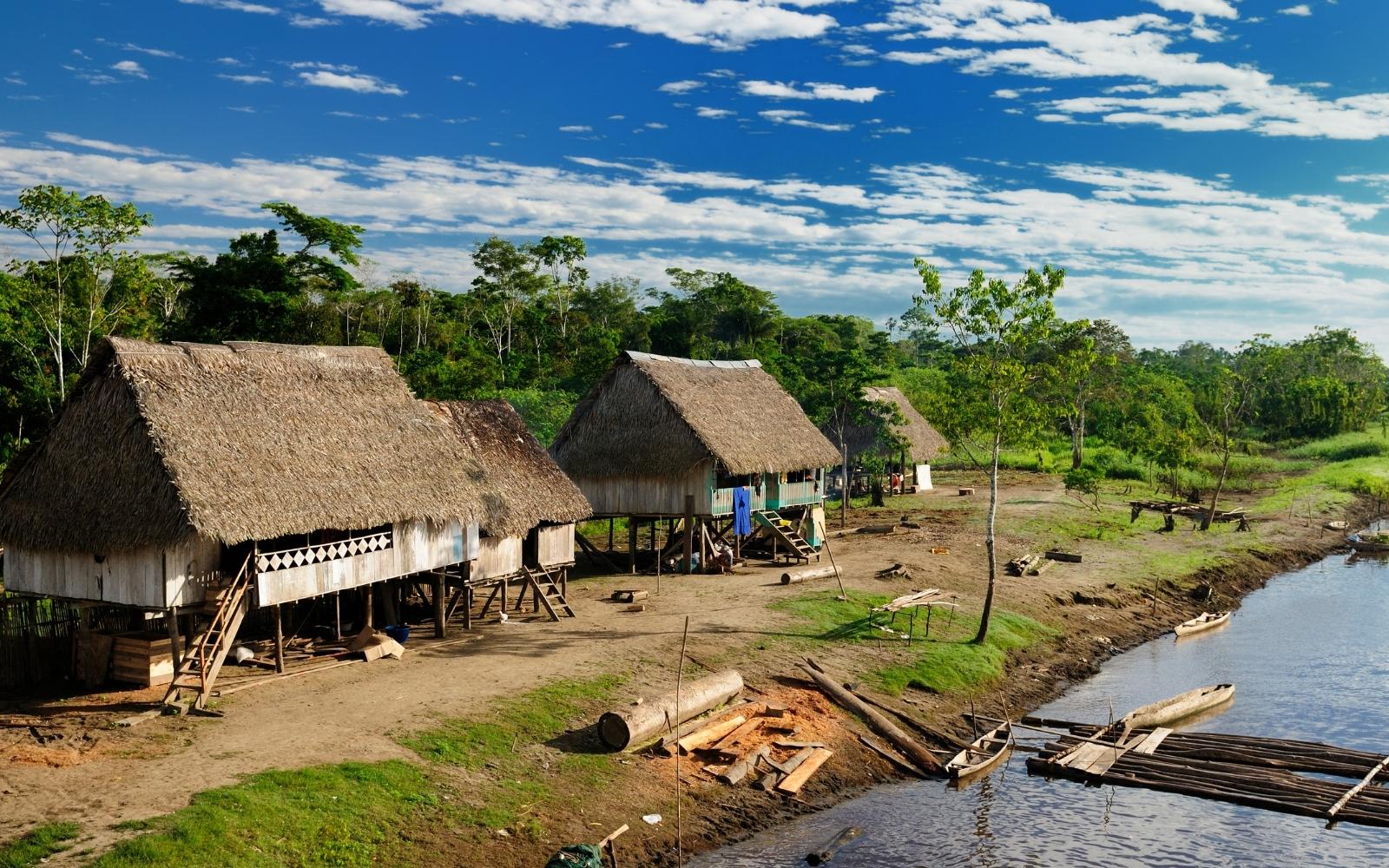 casas del Amazonas