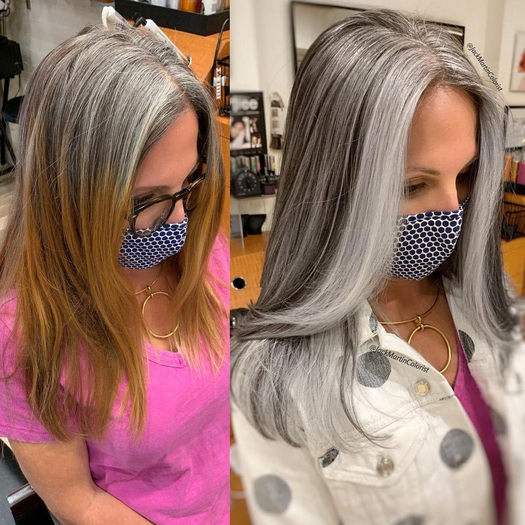 peluquero anima a las mujeres a dejarse las canas