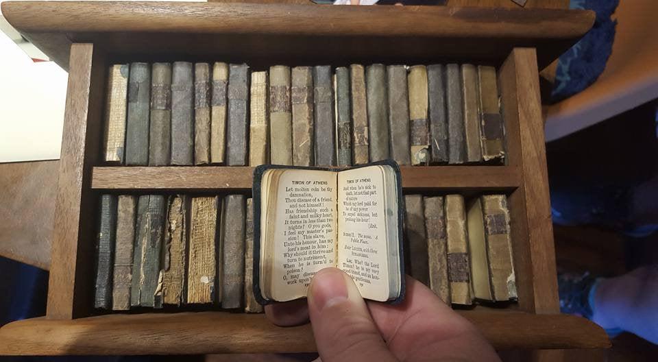 coleccion shakespeare miniatura