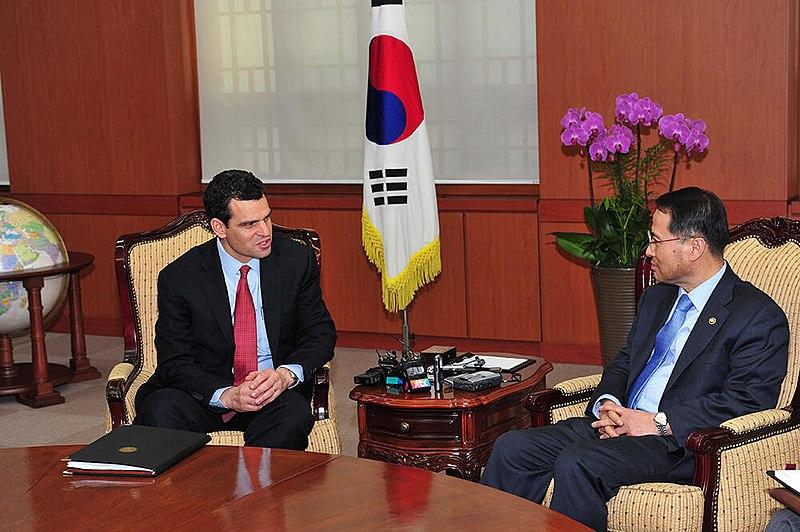 director de la CIA en Corea del Sur