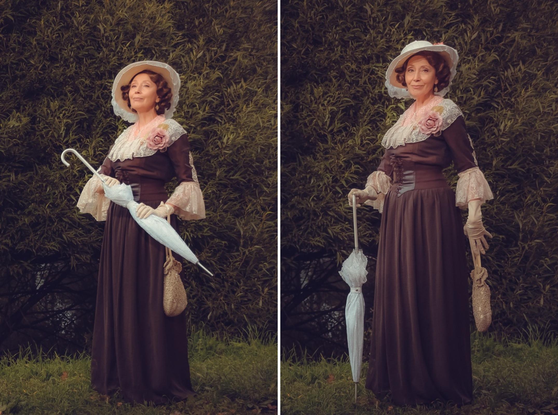 disfraz dama clasica