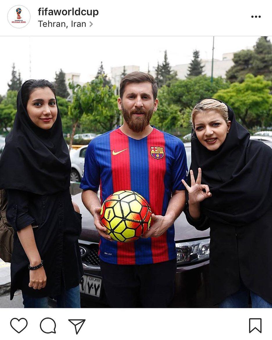 Reza Parastesh con fans