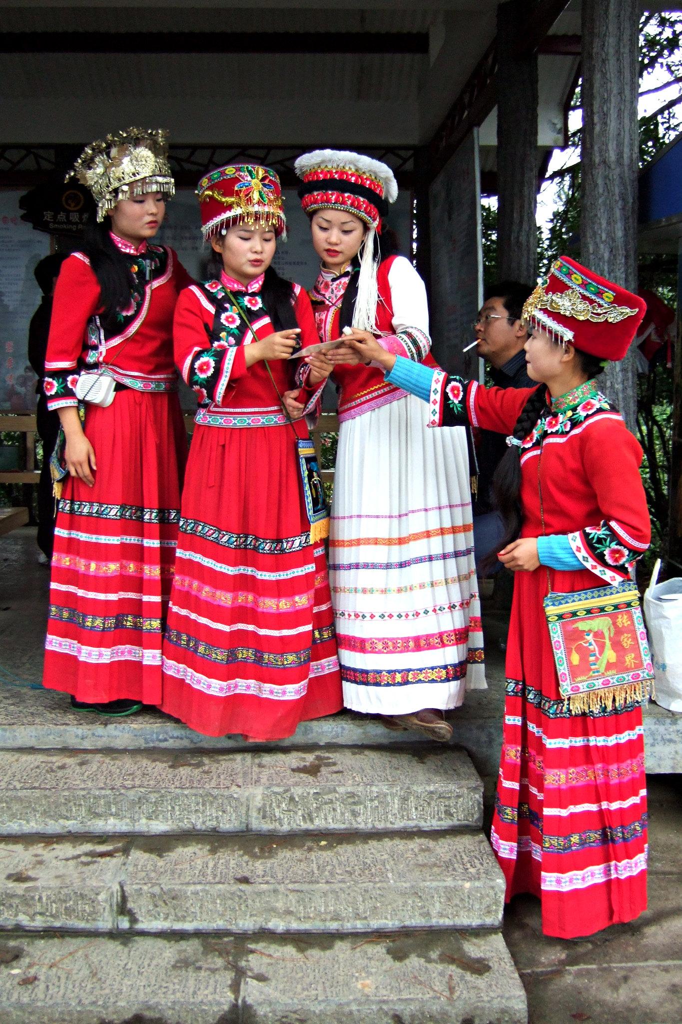 etnia tujia