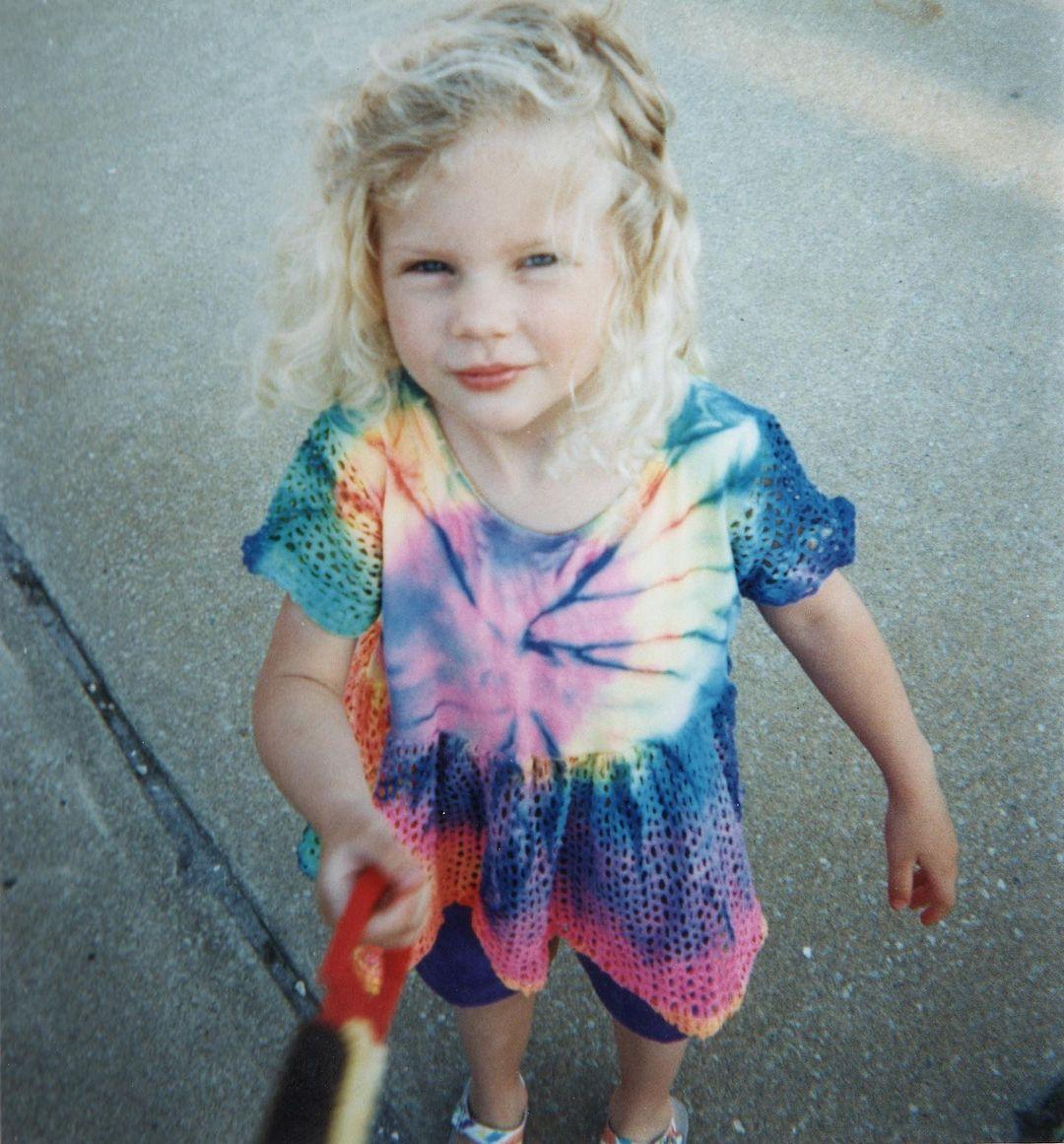 Taylor Swift de niña