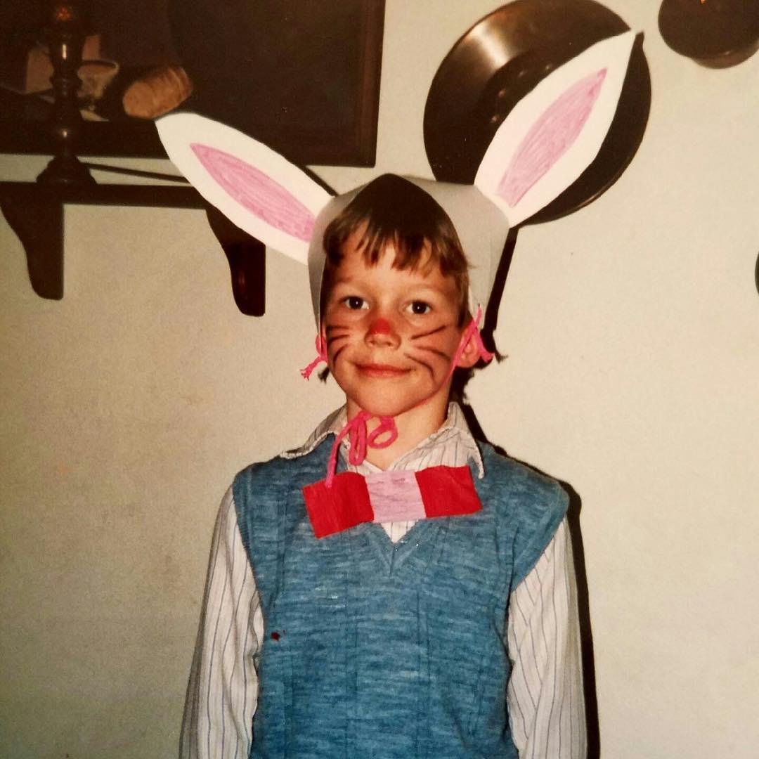 Chris Pratt de niño