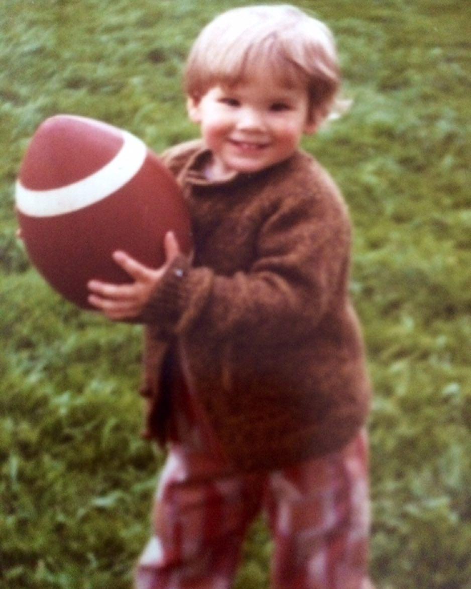 Ryan Reynolds de niño