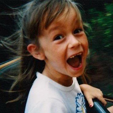 Brie Larson de niña