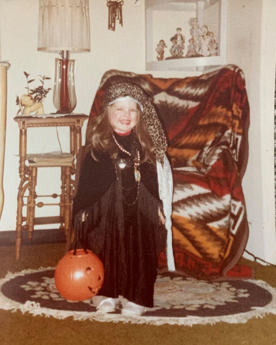 Christina Aguilera de niña