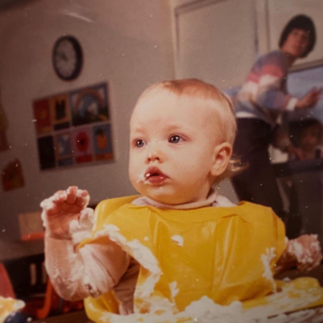 Amanda Seyfried de niña