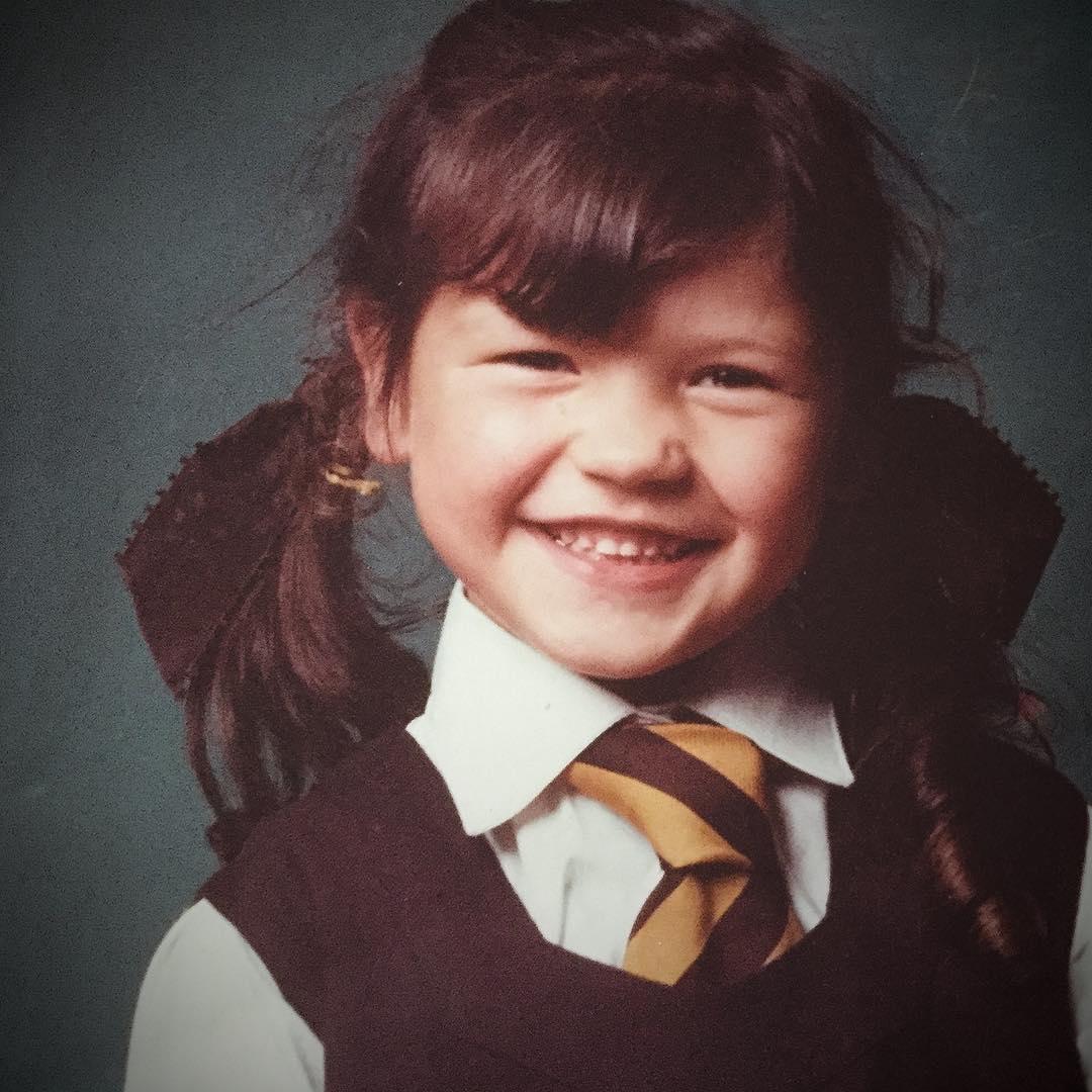 Catherine Zeta Jones de niña
