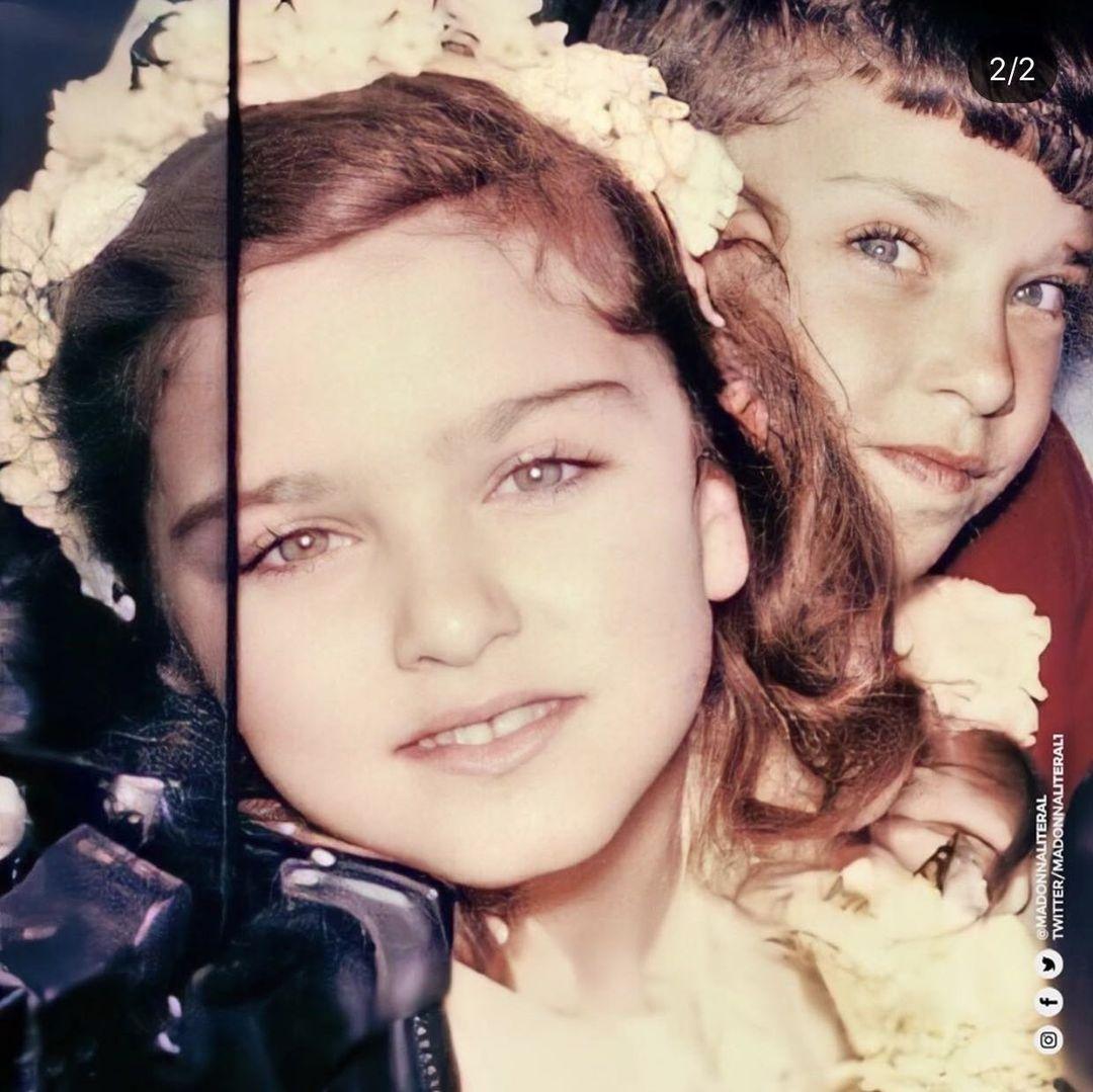 Madonna de niña