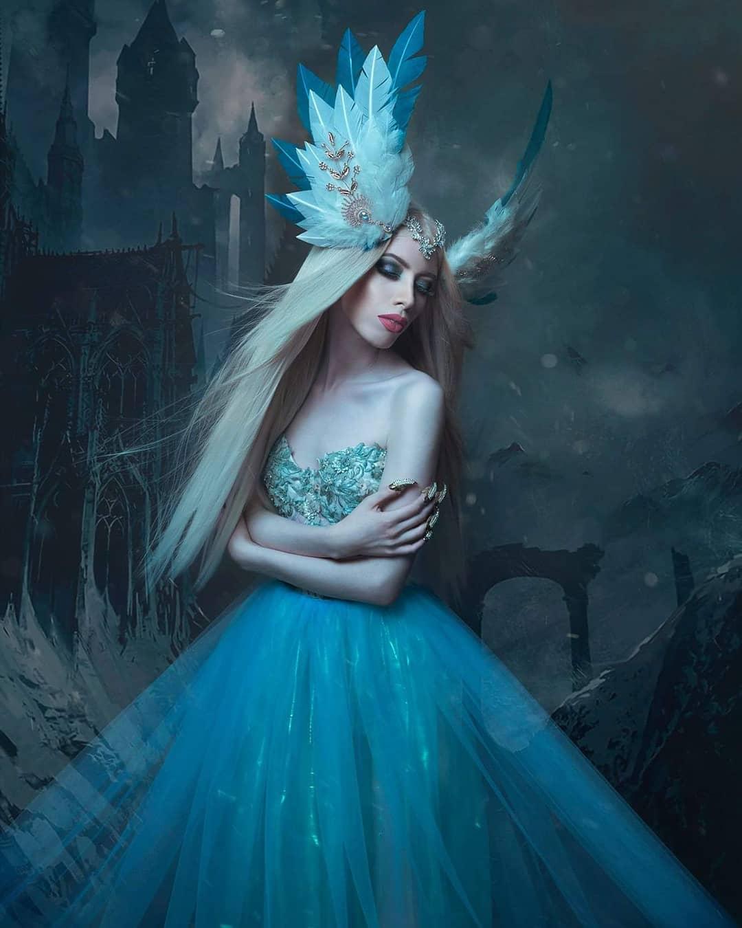 modelo de fantasía
