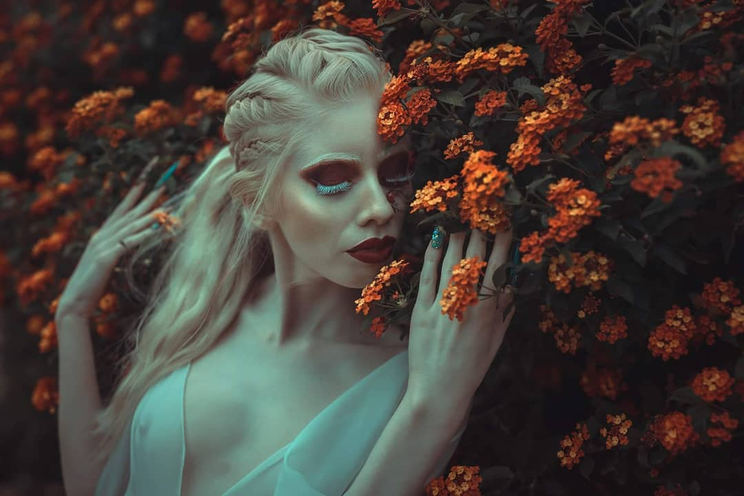 modelaje de personas albinas