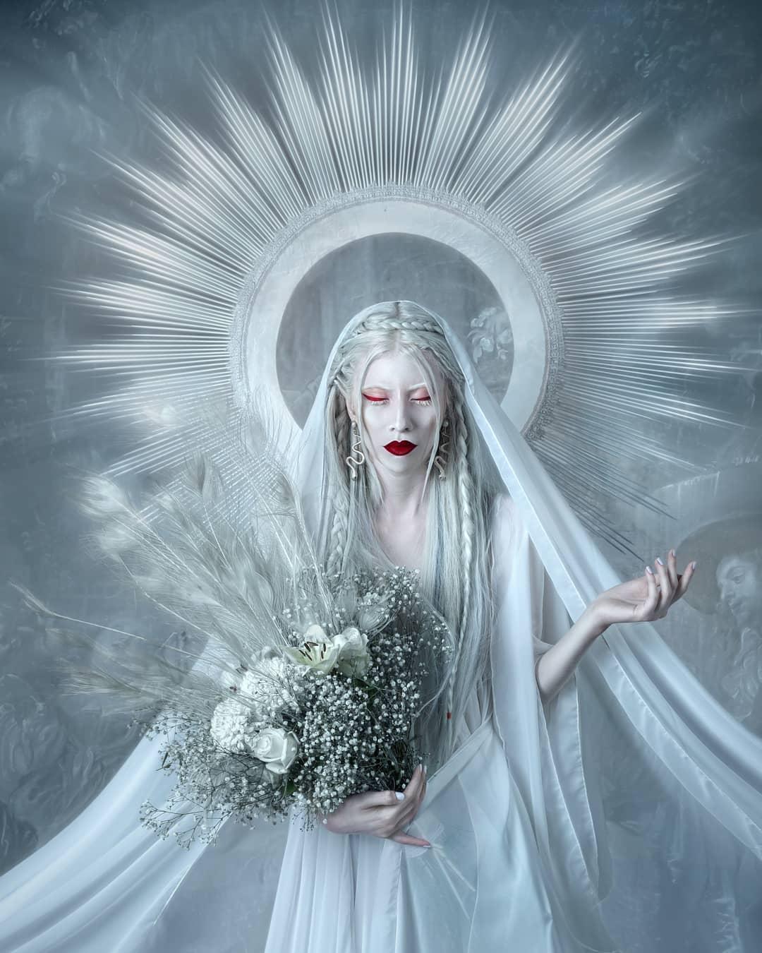 Ruby Vizcarra, la modelo mexicana albina