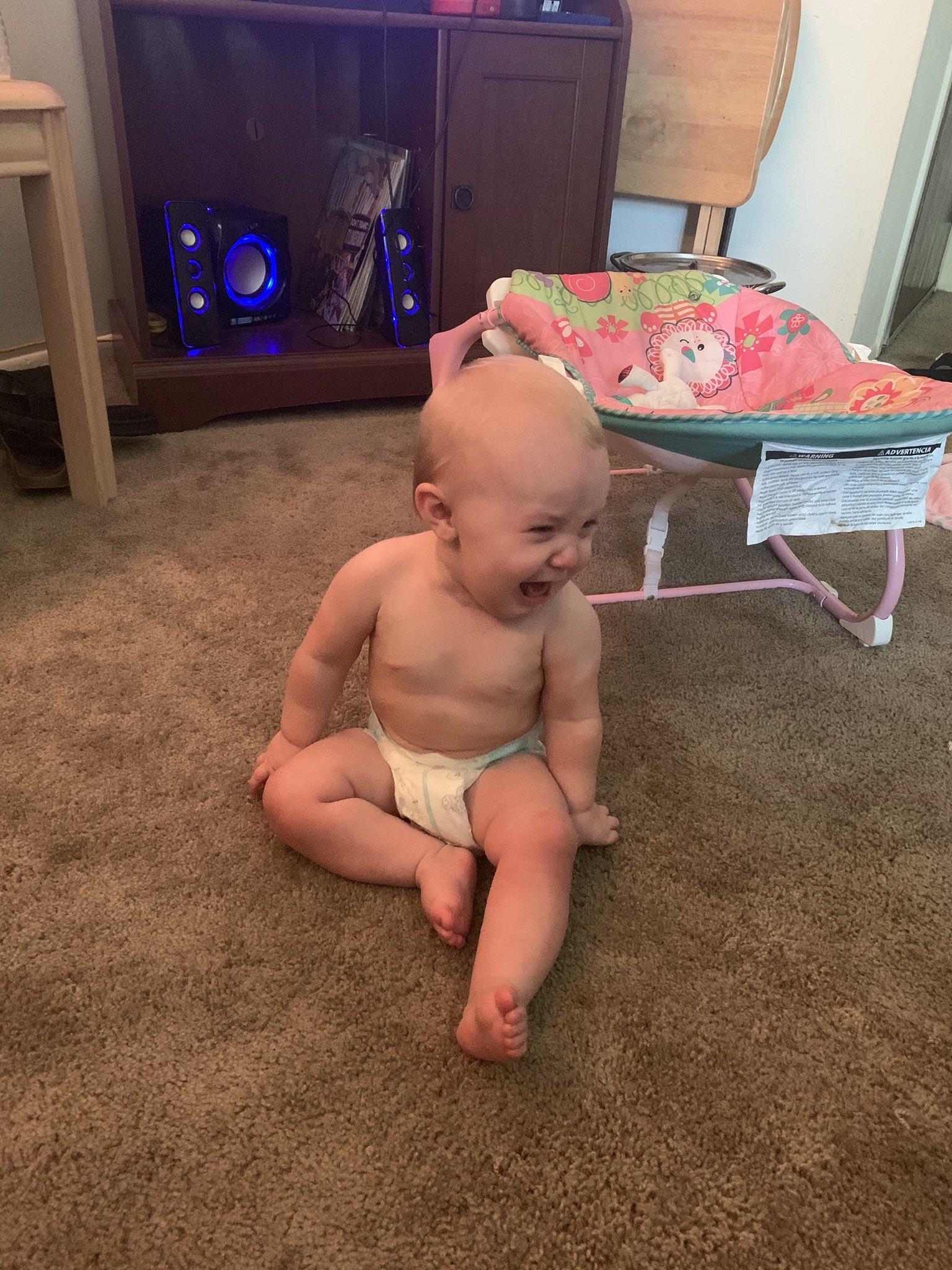 bebé llorando desconsolado