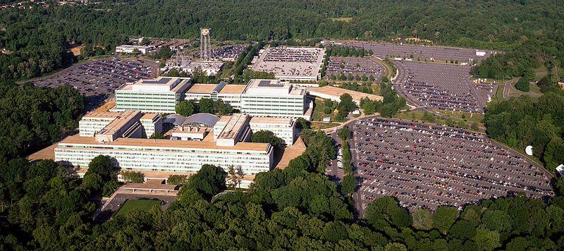 vista aérea de la CIA