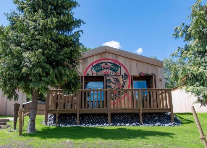 habitaciones en el zoo Pairi Daiza