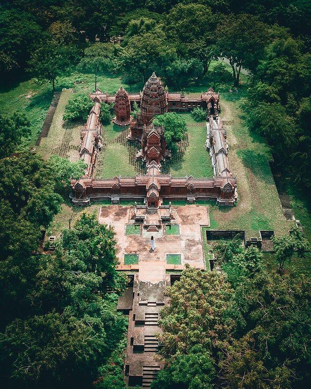 antiguo templo budista