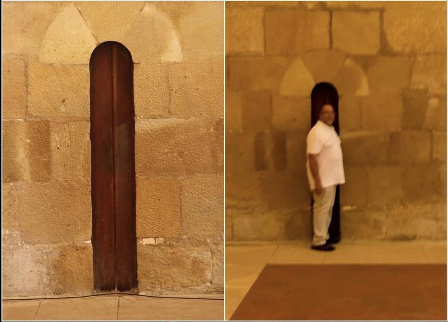 puerta monjes ayuno