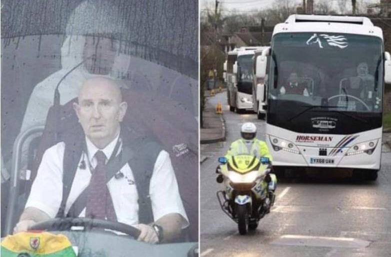 conductor de autobús de infectados por COVID