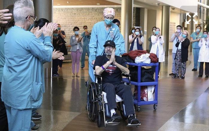 superviviente coronavirus recibe factura millonaria en Estados Unidos