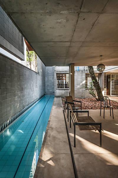 piscina en el sótano