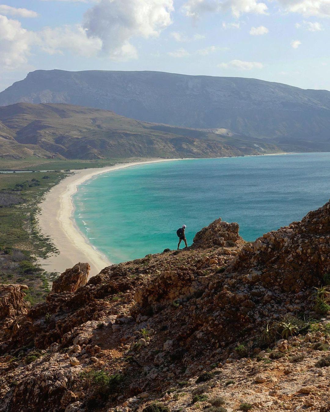vistas panorámicas de Socotra