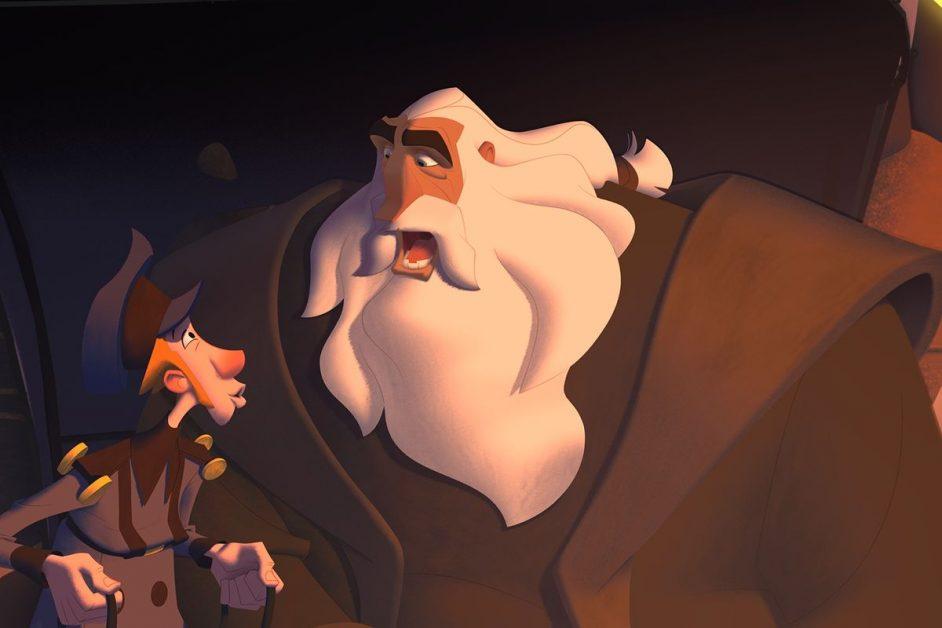 fotograma de la película Klaus