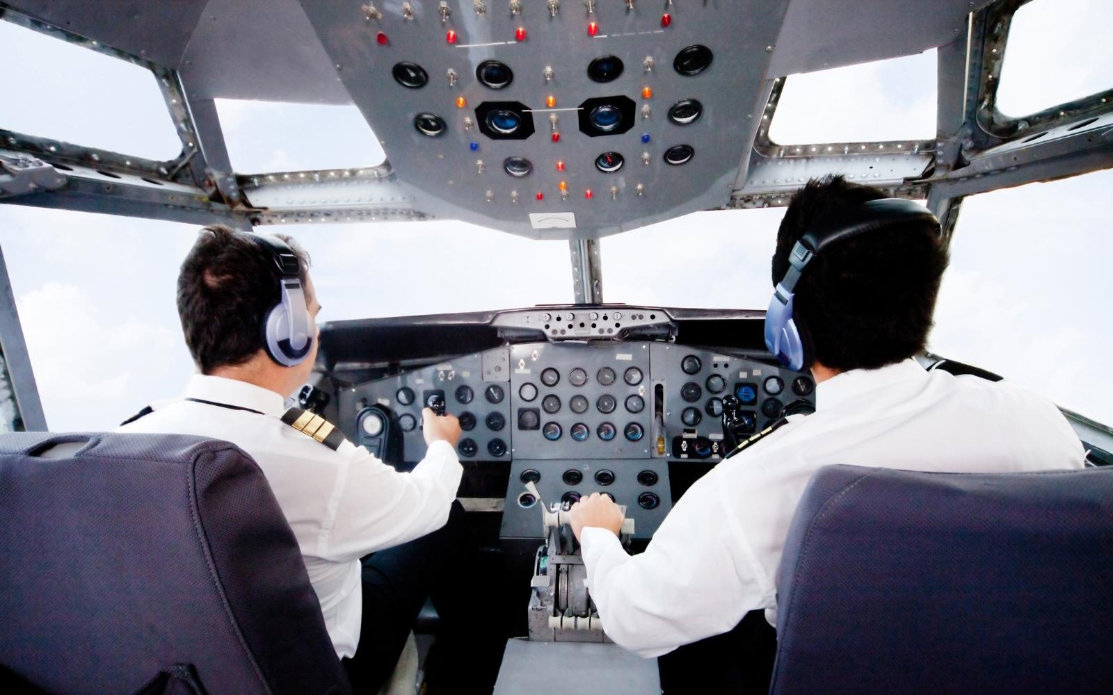 pilotos pilotando