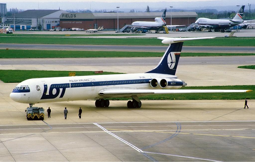 Vuelo 5055 de LOT Polish Airlines